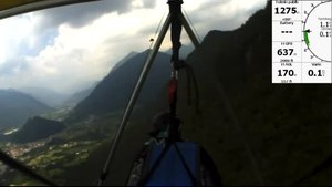 File:Tolmin (Slovenia) 2012 hang-glider beginner flying.webm