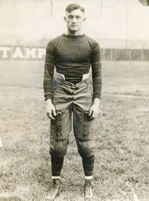 1918 College Football All-America Team - Tom Davies.