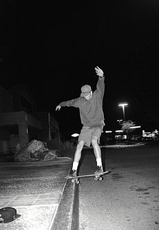 Tom Delonge slappy at Target parking lot.jpg