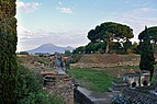 Tombs and mausoleums at Necropolis of Porta Nocera. Pompeii. Italy.jpg
