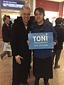 Toni Preckwinkle with supporter 2019.jpg