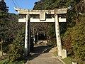 Torii of Chikushi Shrine.JPG