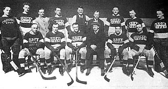 1921–22 Toronto St. Patricks season - Team photograph