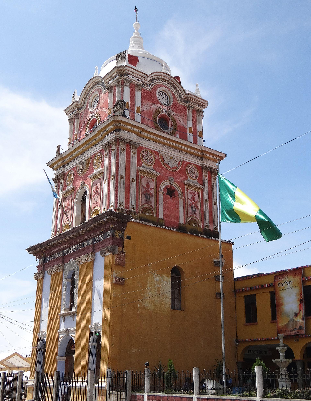 Municipalities of Sololá - Full size