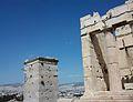 Torre d'Agripa i Pripileus, Acròpoli d'Atenes.JPG