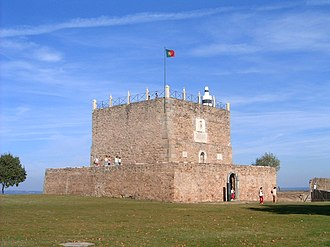Abrantes - The detention block, used to house prisoners, located within the walls of the Castle of Abrantes