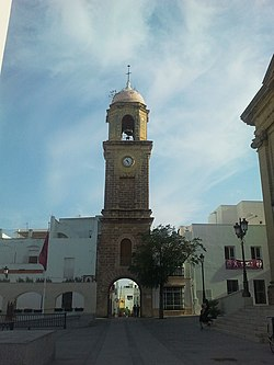 Torre del reloj Chiclana de la Frontera.jpg