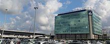 Torre uffici AdR all'aeroporto di Roma-Fiumicino