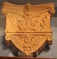 Toscana, peduccio in terracotta, inizi del XVI sec. 01.JPG