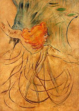 Toulouse Lautrec - Loie Fuller 01