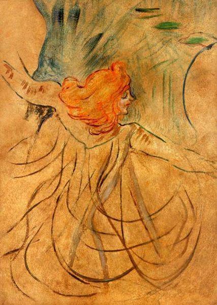 Archivo: Toulouse Lautrec - Loie Fuller 01.jpg