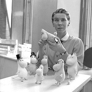 Tove Jansson - Tove Jansson in 1956.