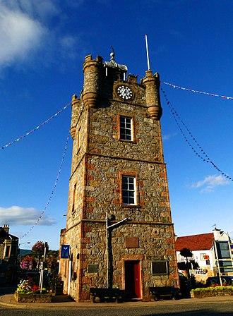 Dufftown Clock Tower - Dufftown Clock Tower in 2011