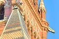 Tower details and gargoyle, Memorial Hall, Harvard.jpg