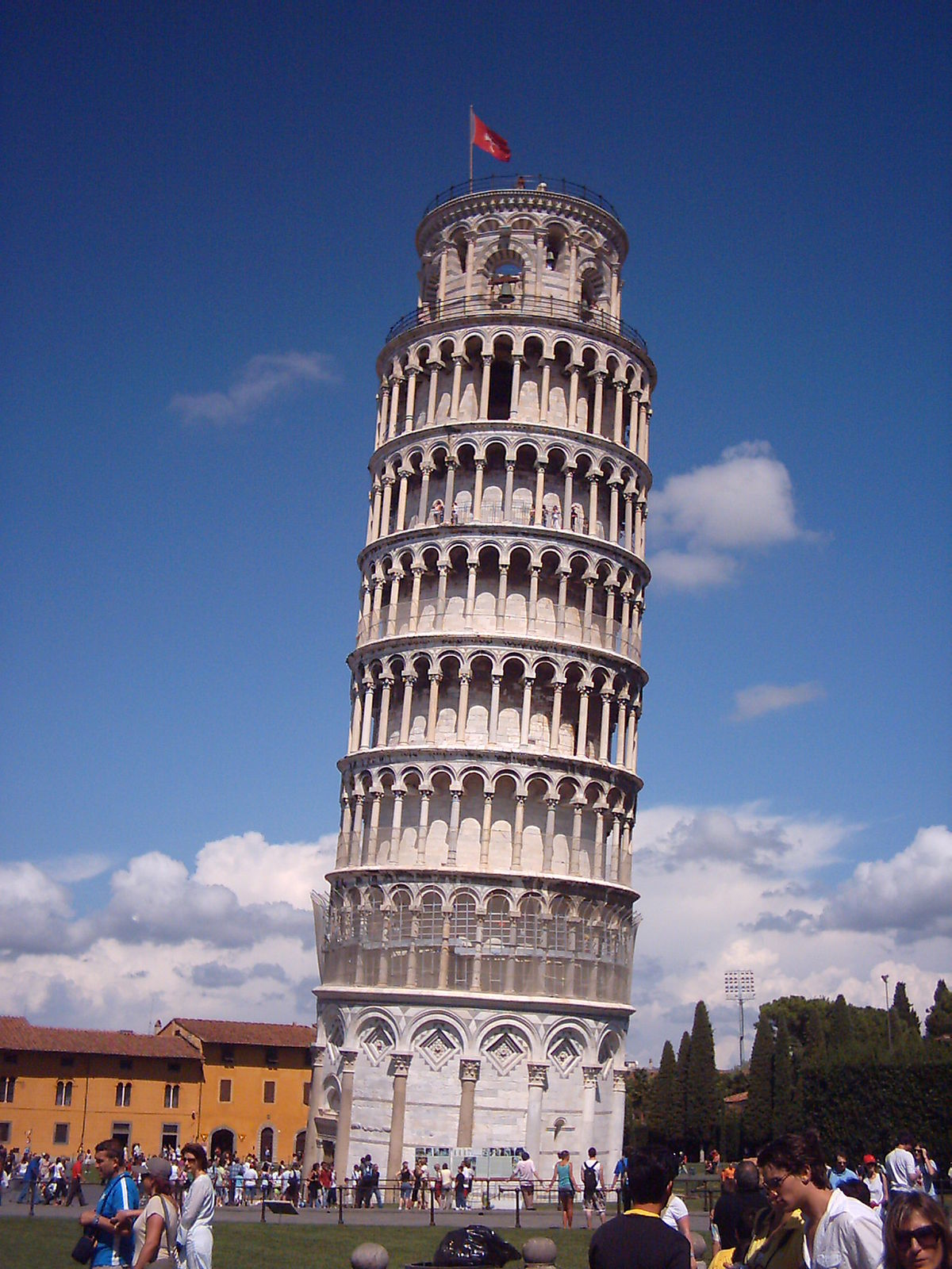 Pisa travel guide at wikivoyage - Leaning tower of pisa ...