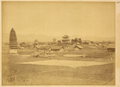 Town of Yangxian, Kaiming Temple and a Thirteen-Story Pagoda Built in 713. Shaanxi Province, China, 1875 WDL2097.png