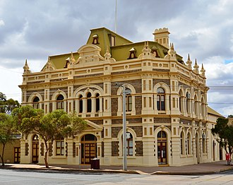 Barrier Industrial Council - Trades Hall (1921) in Broken Hill
