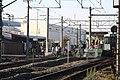 Train arrives at Yamoto station.JPG