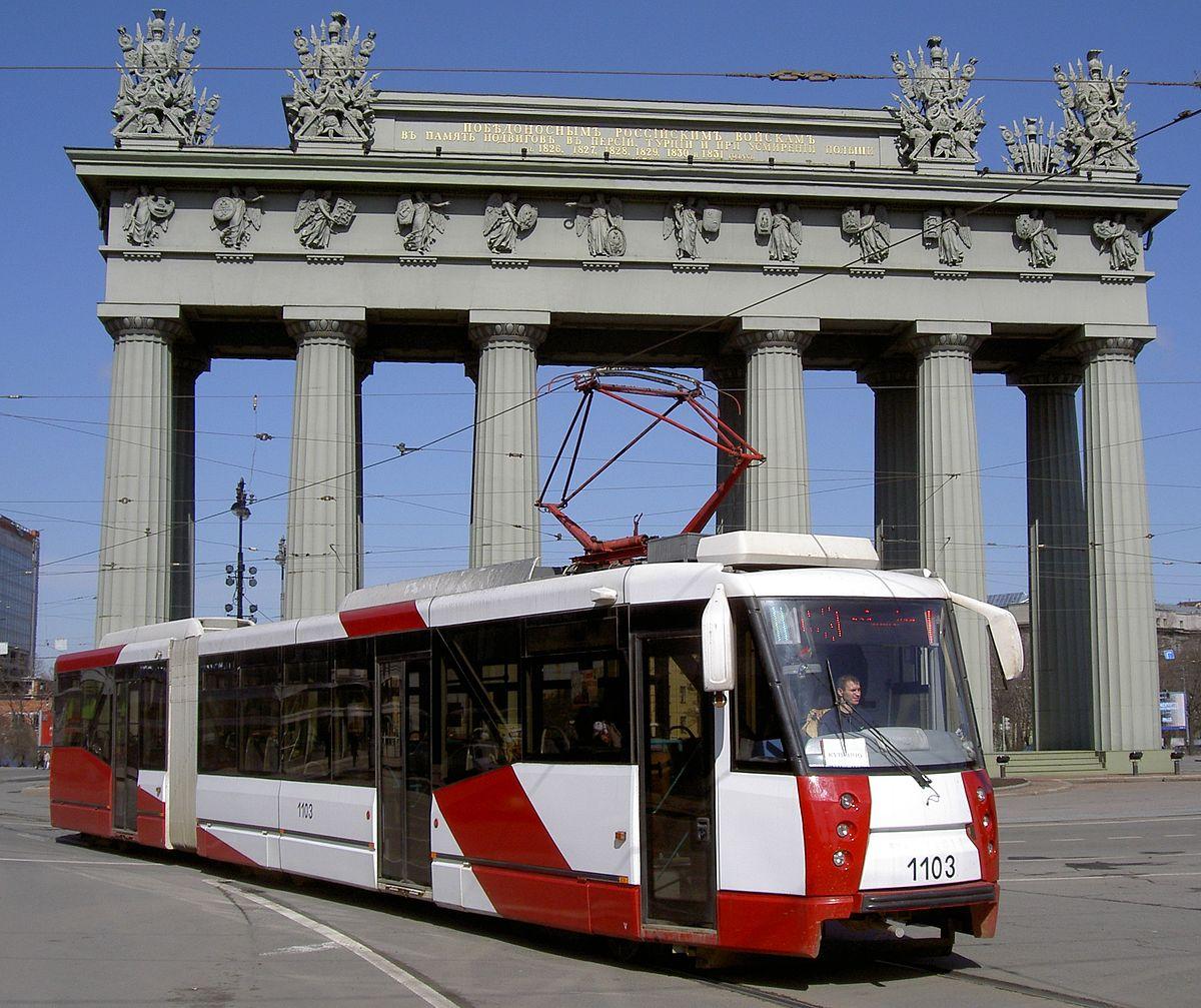 Trams In Saint Petersburg Wikipedia