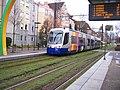 TramTrain Mulhouse station PorteHaute 08.01.2011.JPG