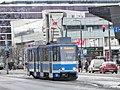 Tram 130 Narva Maantee Tallinn 7 January 2015.JPG
