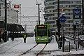 Tram at East Croydon (2) - geograph.org.uk - 2182011.jpg
