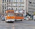 Tram in Sofia near Macedonia place 2012 PD 051.jpg