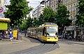 Tram near Kaiserplatz, Karlsruhe - geo.hlipp.de - 4632.jpg