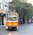 Tramway in Sofia in Alabin Street 2012 PD 038.jpg