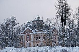 Lyubytinsky District - The Trinity Cathedral of the Ryokonsky Monastery
