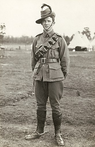 6th Light Horse Regiment (Australia) - A trooper of the 6th Light Horse Regiment