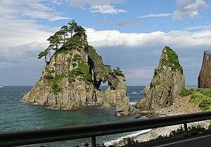 Kuji, Iwate - Sanriku coastline at Kuji