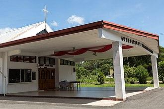 Tuaran District - Image: Tuaran Sabah Anglican Church 05