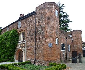 Queen Elizabeth's School, Barnet - Tudor Hall, where the school began in the sixteenth century