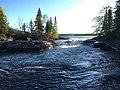 Tulabi Falls 9 Nopiming Provincial Park Manitoba.jpg