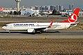 Turkish Airlines, TC-JGZ, Boeing 737-8F2 (40671486243).jpg