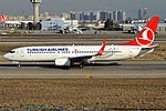Turkish Airlines, TC-JGZ, Boeing 737-8F2 (40671486243).jpg