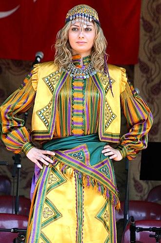 Turkish salvar - Image: Turkish traditional fashion 6