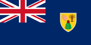 Turks and caicos flag 300