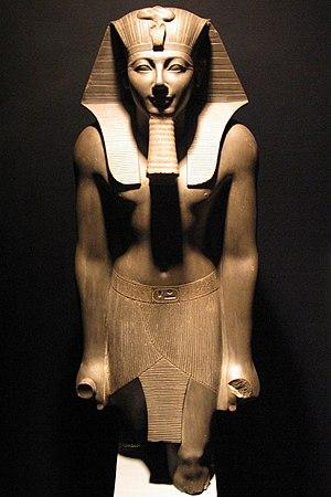 Thutmose III - Thutmosis III statue in Luxor Museum