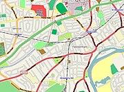 Twickenham-map