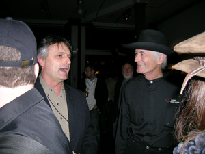 John Law (Burning Man) - John Law, left, and Michael Mikel a.k.a. Danger Ranger another Burning Man founder.