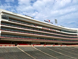 Maryland Stadium - Tyser Tower contains 63 luxury suites