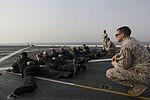 U.S. Marines guide Sailors during VBSS training 150702-M-GC438-026.jpg