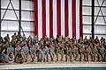U.S. troops await the arrival of U.S. President Barack Obama on Bagram Airfield.jpg