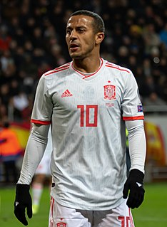 Thiago Alcântara Spanish footballer
