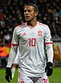 UEFA EURO qualifiers Sweden vs Spain 20191015 Thiago Alcantara 13 (cropped).jpg
