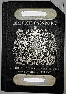 British passport - Wikipedia