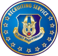 Air Force Reserve Recruiting Service Badges
