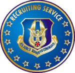 USAFRC Recruiting Service Badge